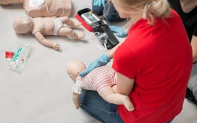 Zadławienie u niemowląt